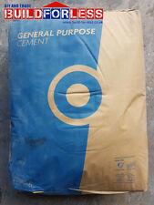 20 X Blue Circle Grey Cement 25kg (Paper bags)