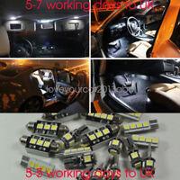 Error Free 20 Lights UPGRADE SMD LED Interior Kit For BMW 5 SERIES F10 2009-2017