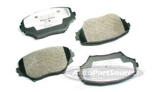 Tru Star PPM862 Disc Brake Pad-Semi-Metallic Pads Front