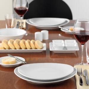 MERAN Steak & More 6x Teller oval 21cm Kuchenteller Gastro Hotel