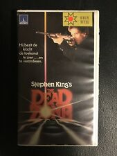 The Dead Zone Ex-Rental Vintage VHS Tape English  dutch subs