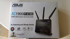 NEW Asus RT-AC1900 Dual-Band Wireless 4K Streaming Gaming Router SEALED !
