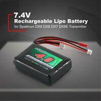 7.4V 8C 4000mAh Lipo Battery for Spektrum DX9 DX8 DX7 DX6E Transmitter Battery L