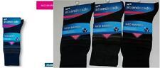 3 Pares de calcetines socks Abanderado NEO BAMBÚ T.U rayas marino-negro-gris