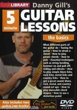 LICK LIBRARY DANNY GILL'S 5 MINUTE GUITAR LESSONS Learn To Play Strum Chords DVD