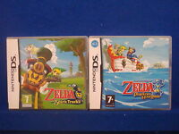 ds ZELDA Spirit Tracks + Phantom Hourglass The Legend Of Zelda Lite DSi 3DS PAL