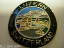 Luzern Lucerne Switzerland new shield mount stocknagel hiking medallion G2415