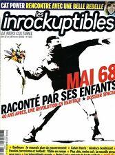Les Inrockuptibles #637 -MAI 68 40 ANS APRES- Banlieues