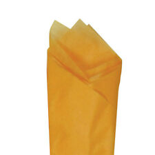 "Apricot Orange Quality Premium Grade Color Tissue Paper 20""x30"" 24 Sheets / Pack"