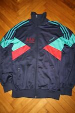 Adidas Rare Originals 80s Vintage Mens Tracksuit Top Jacket D4