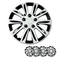 New 16 inch Hubcaps Silver Rim Wheel Cover Hub Cap Full Lug Skin For Hyundai 547
