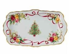 Royal Albert OLD COUNTRY ROSES **CHRISTMAS TRAY **  NEW / BOX