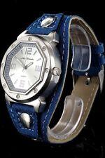 + Wristwatch °° Nele Fortados  DAMENUHR mit Armband im Jeans-Look  JB041216
