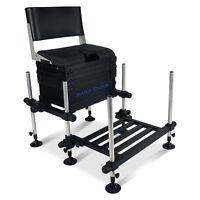 Match Station® 4D Mod-Box™ Seat Box, HD Footplate & Back Rest