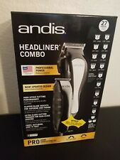 Andis Headliner Combo 28 Piece Pro Home Haircutting Clippers Kit FAST SHIP