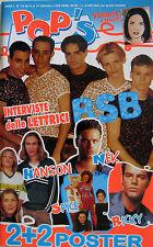 POP'S 16 1998 BSB Five Cleopatra Neri Per Caso Boyzone Emma Bunton Hanson Nek