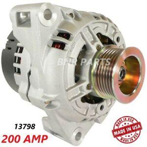 200 AMP Alternator Mercedes Benz  Slk230 1998-2004 High Output Performance HD