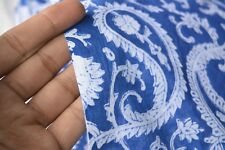 Indian Hand Made Block Print Fabric 100% Cotton Crafting Fabric 5 Yard