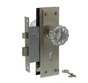 Ultra Security 44615 Old Time Mortise Entry Skeleton Key Lock Set