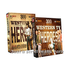 Western TV Heroes: 600 Classic Episodes Complete Volumes 1 & 2 Box / DVD Set(s)