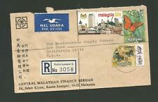Malaysia Registered Cover