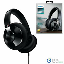 Philips Headset Earphones TV with Cable One-Sided Hi-Fi over Ear Black SHP6000/