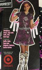 NWT Monster High Girl Age 5-7 Halloween Costume SPECTRA VONDERGEIST Medium 8-10