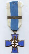 Finland Civil Guard Blue Cross Bar 1917-1918 High Grade !!!