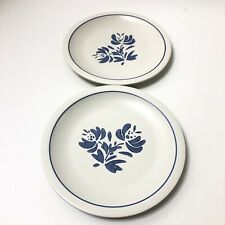 Set of 2 Pfaltzgraff Yorktowne Dinner Plates 9 7/8""