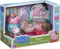 PEPPA WUTZ - DAS MAGISCHE EINHORN SPIELSET - FIGUREN FIGUR PIG SPIEL SPIELZEUG