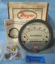 DWYER MAGNEHELIC WATER DIFFERENTIAL PRESSURE GAUGE 2001, 0-1.0 INCHES OF WATER