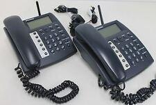 2 X BURNSIDE P355 Fixed Cellular Desktop Mobile SimCard Office Speaker Phone