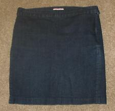 "TOMMY HILFIGER Stretch Denim Jean Skirt Sz 8 Womens Waist: 33"" Straight"