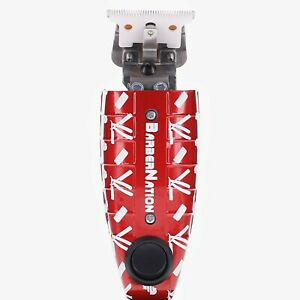 Custom Andis T-Outliner Skeleton Trimmer with Flip Switch : (Red and White)
