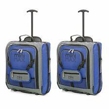 Niños/INFANTIL PEQUEÑO Young Rosa/Azul cabina equipaje de Mano Carrito Mochila