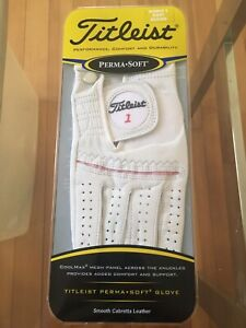 Titleist Golf Glove Women's Right Medium Perma Soft