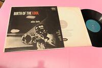 MILES DAVIS LP BIRTH OF THE COOL 1° ST ORIG US 1959 MONO NM !!!!!!!!!!! TOP JAZZ