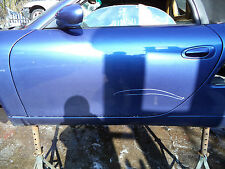 PORSCHE BOXSTER 986 PASSENGER SIDE NS BARE DOOR SHELL ZENITH BLUE METALIC R33EPA