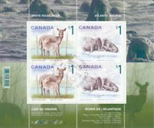 Canada 2005 $1 Wildlife Souvenir Sheet, #1689b