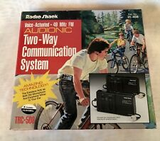 Vintage RADIO SHACK Voice Operated Two-Way Communication System TRC-508