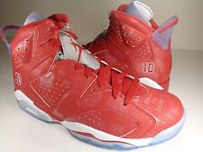 Nike Air Jordan 6 VI Retro X Slam Dunk Varsity Red White SZ 10 (717302-600)