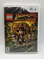 LEGO Indiana Jones: The Original Adventures (Nintendo Wii, 2008) New Sealed