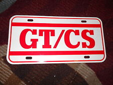 2007 - 2014 FORD MUSTANG GT/CS CALIFORNIA SPECIAL LICENSE PLATE NEW RED WHITE