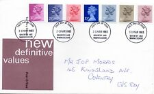 1983 Definitive 3½p - 31p  First Day Cover