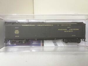 Nashville Chattanooga Railroad GACX Wood Express Reefer 3918 Broadway 1860 HO