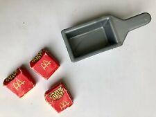 New Listing1982 Vintage Mattel Barbie McDonalds Playset Replace deep fryer basket 3 fries