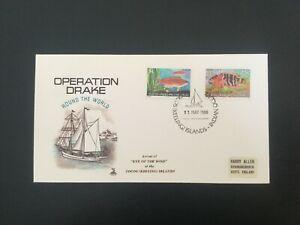 COCOS(KEELING) ISLS 1980 Operation Drake Cover (F34)