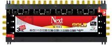 Next YE 17/8 Gold End Multischalter Multiswitch FullHD 4K UHD