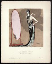 Jean-Gabriel Domergue. Gazette du Bon Ton. Le Miroir Ovale. 1920. Beer