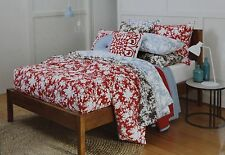 "Sheridan Bed Quilt Cover SEBINA King Set 3 Pce  Black ""Brand New"""